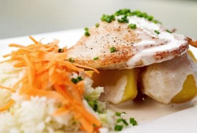 Raclette de tenreira galega e queixo Barra Neno